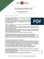 DoD - Revisão - Delegado de Polícia Federal (2021)
