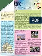 La lettre des Longs Prés n°6 mars avril