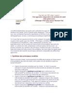 etude comparative des systèmes de santé