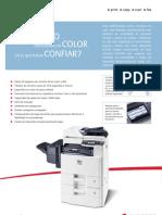 Ficha técnica multifuncional Kyocera A4/A3 de color FSC8020MFP