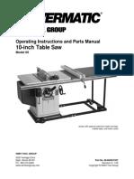 powermatic-66-user-manual
