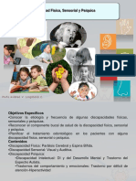 Discapacidad Intelectual, Fisica y Sensorial