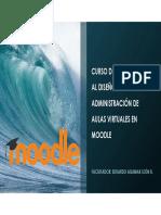 Curso de Introducción Al Diseño y Administración de Aulas Virtuales Moodle