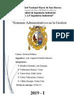 GRUPO 5 - Sistemas Administrativos