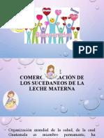 LEY DE COMERCIALIZACIÓN DE LOS SUCEDÁNEOS DE LA-1