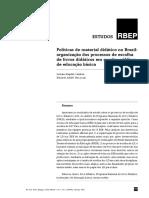 ART_Políticas de material didático no Brasil