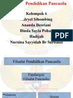 Presentation kelompok 6, filsafat pendidikan