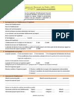 Etablissement Recevant du Public (ERP) de 5 ème catégorie avec locaux à sommeil (1)