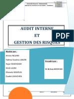 Audit Et Gestion Des Risques