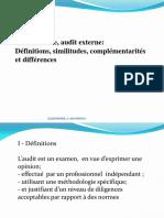 audit interne  et audit externe