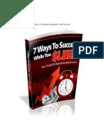 7 Ways to Success While You Sleep.en.Pt