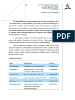 Comunicado Oficial APe - Escritório e Loja Multibom - 17-03-2020