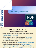 3. Strategic Position The Environment