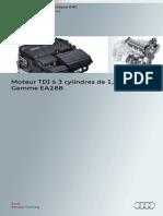 SSP 640 Moteur TDI à 3 Cylindres de 1,4 l Audi Gamme EA288
