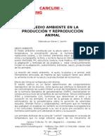 EL MEDIO AMBIENTE EN LA PRODUCCIÓN Y REPRODUCCIÓN ANIMAL