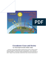 Greenhouse Gases and Society