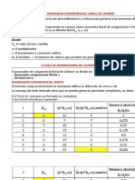 Generador Congruencial Lineal de Lehmer - A (1)