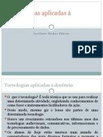 Tecnologias aplicadas à docência 2016 aula Profº Rodrigo