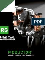 Electrificacion longitudinal para puentes grua y equipos moviles MODUCTOR RG Ingeval