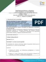 Guia de actividades y Rúbrica de evaluación Fase 2 Analizar el problema_V1