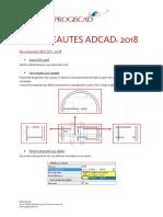 Nouveautes ADCAD 2018