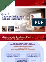 2 Customer Behavior in Service Encounters
