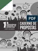 28 Caderno de Propostas 1 conferencia de juventude