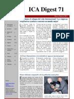 ICA Digest 71 - Edición en Español