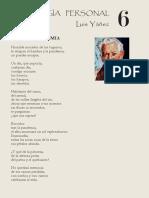 Antología Personal 6_Luis Yañez