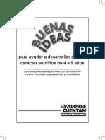 BUENAS IDEAS PREESCOLAR A TERCERO
