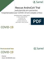 Proxa Rescue AndroCoV Trial Apresentacao Pre Final 10 Mar 2021
