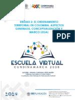 Cartilla Unidad 2 El OT en Colombia Conceptualizacion y Marco Legal 2018