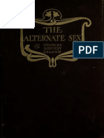 LELAND, Charles Godfrey - The Alternate Sex; Or, The Female Intellect in Man, And the Masculine in Woman - 1904