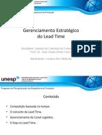 Gerenciamento Estratégico de Lead Time