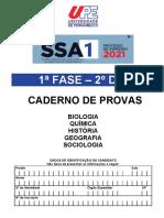 Caderno de Provas - 1 Fase - 2 Dia