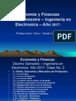 Unidad Segunda E&F 10 Sem. PFUNA Electronica-2017