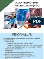 PENGENDALIAN PENYAKIT DAN PENYEHATAN LINGKUNGAN (P2PL)
