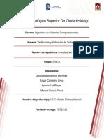 5. Investigación (Proceso de Verificación y Validación Del Software)