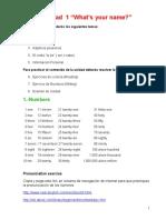 evaluacion prototipo verb tobe