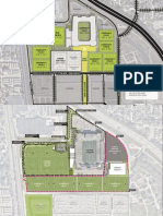 Original and current plans for the Mapfre Recreation park