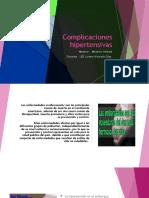 Complicaciones hipertensivas