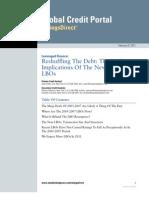 LeveragedFinanceReshufflingTheDebtTheCreditImplicationsOfTheNewWaveOfLBOs2.22.11