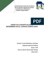 ASPECTOS ATENCION DOMICILIARIA