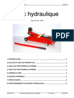 Dossier technique Cric hydraulique