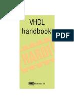 VHDL-Handbook