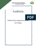 Elementos Auditoría