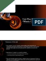 Presentation Music Unit Lesson Plan