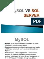 MySQL VS SQL SERVER diapositivas