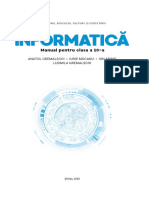 X_Informatica (a. 2020, In Limba Romana)