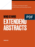 Booklet of Abstracts